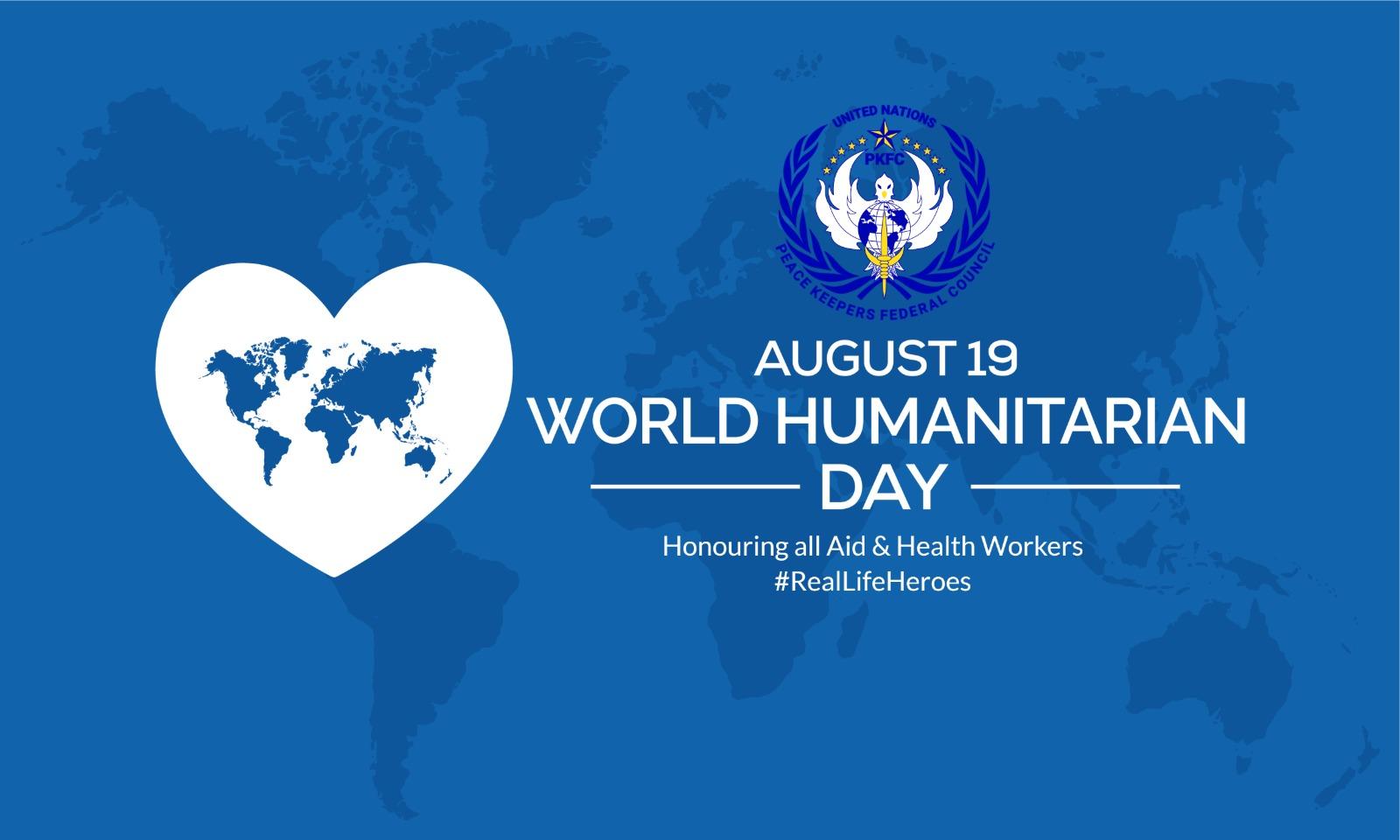 WORLD HUMANITARIAN DAY 2021   UNPKFC
